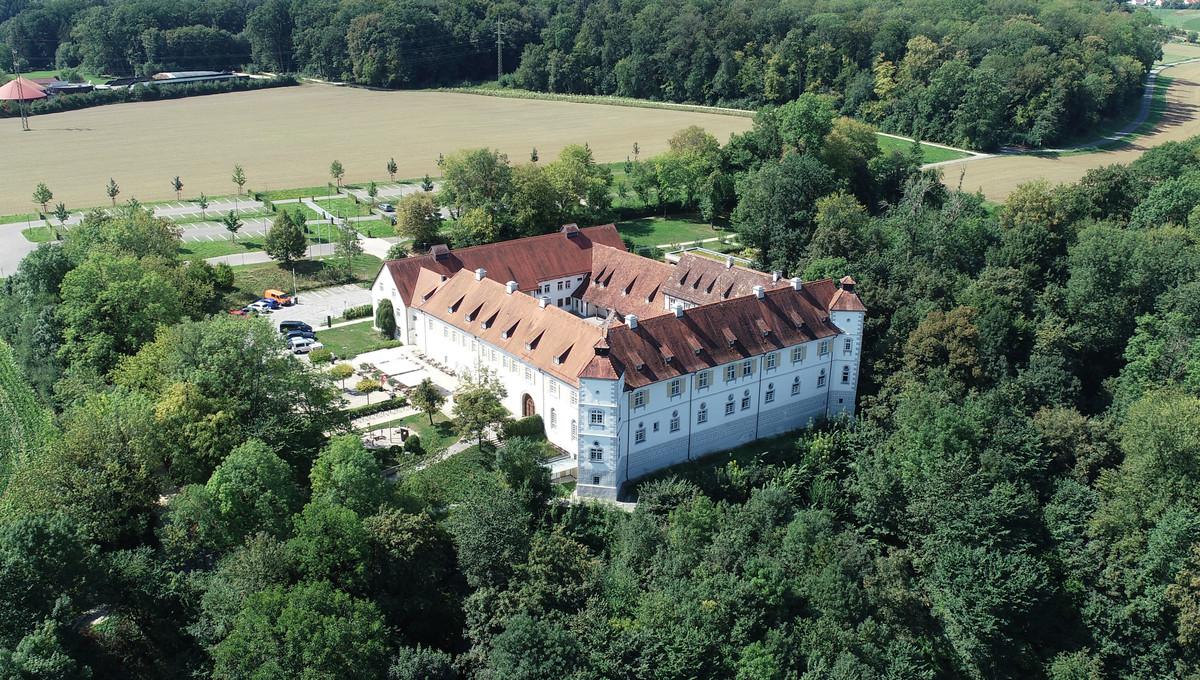 Schloss Filseck mit Blick Richtung Südwest.