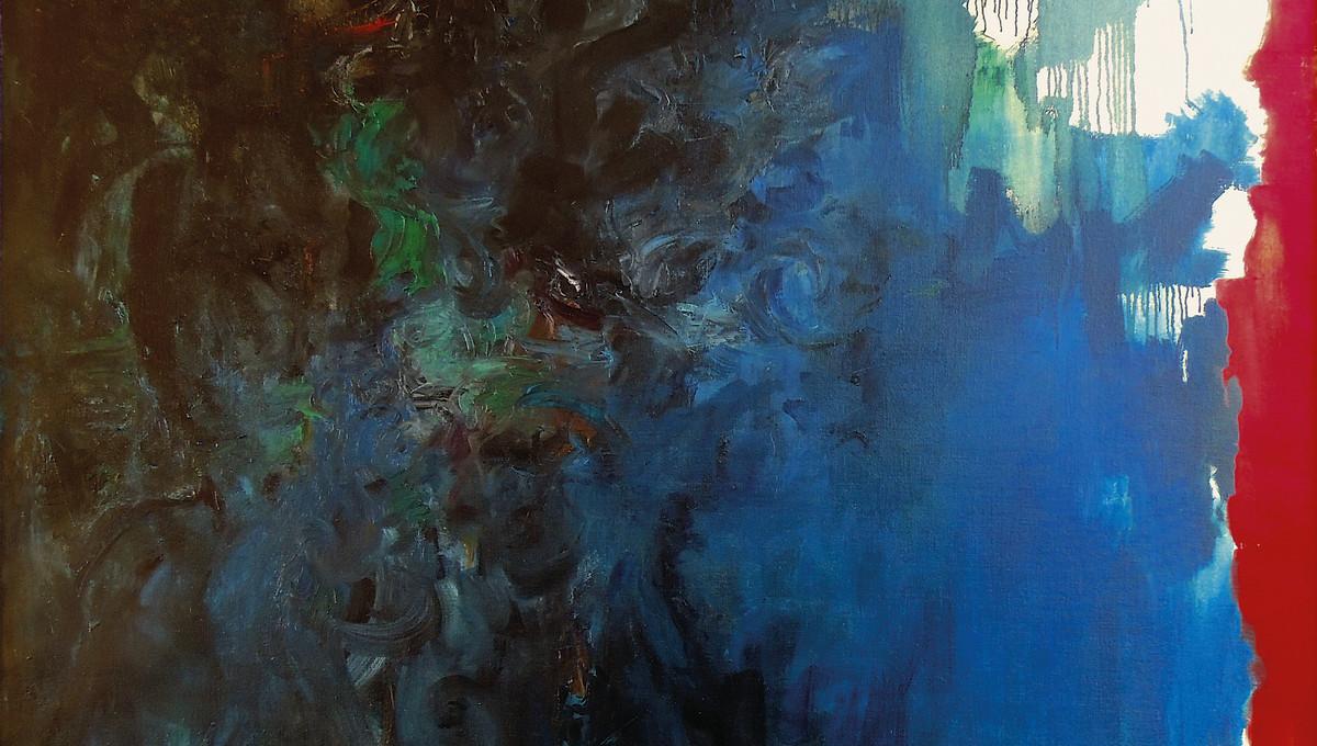 Mateo, 1959, Öl auf Leinwand, 225 x 185 cm, GCK-Archivnummer 0578 (Ausschnitt)