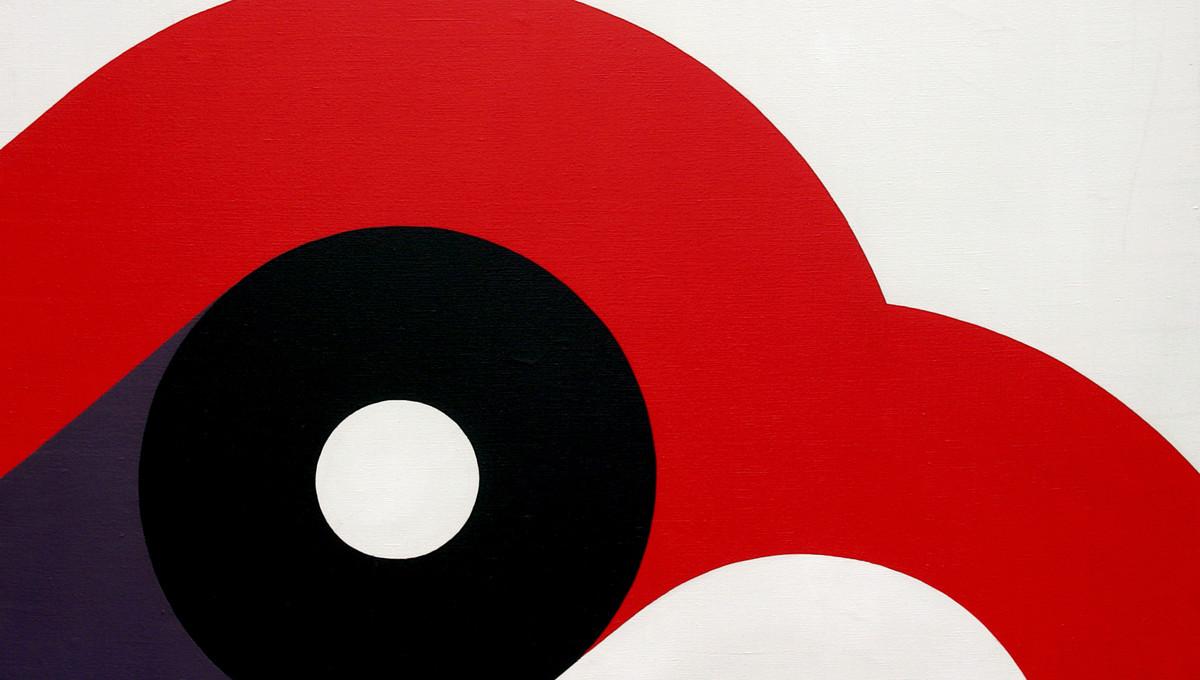 CLOTILDA, 1966, Öl auf Leinwand, 100 x 120 cm, GCK-Archivnummer 0397 (Ausschnitt)