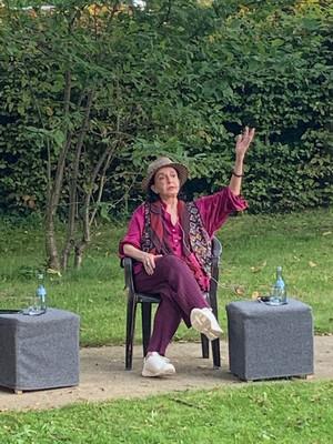Die temperamentvolle Marcia Hajdée
