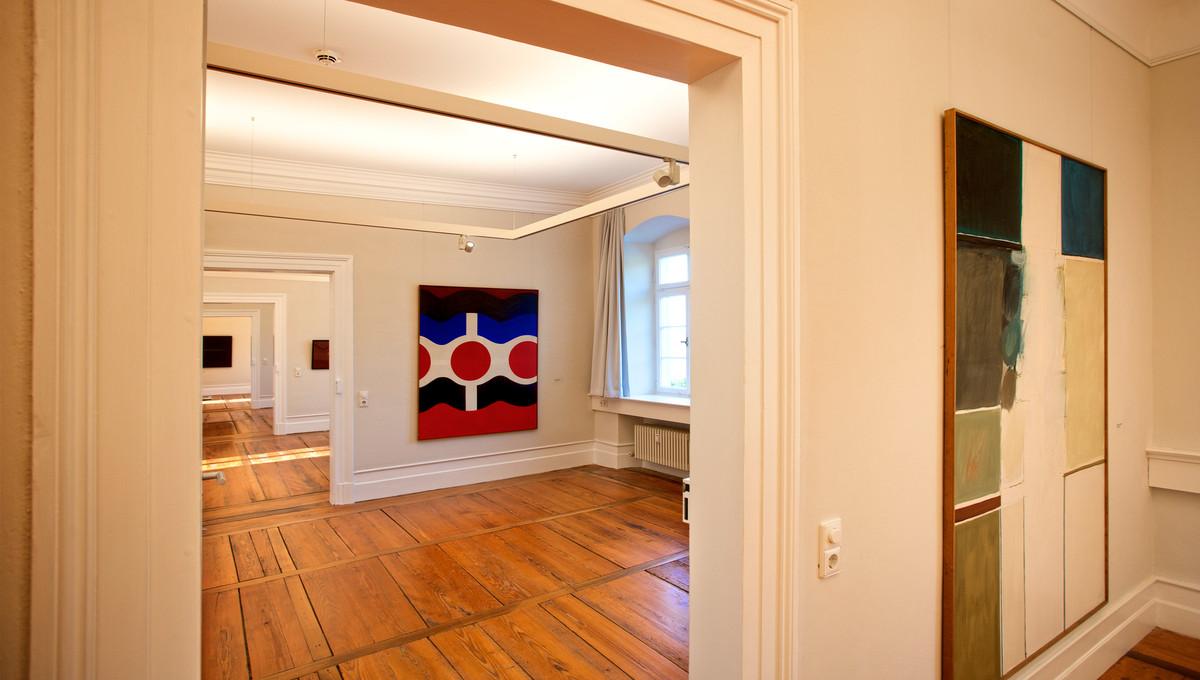 Blick in die Galerie im Ostflügel