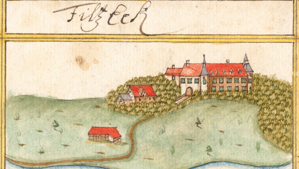 Historische Ansicht von Georg Kieser, 1683
