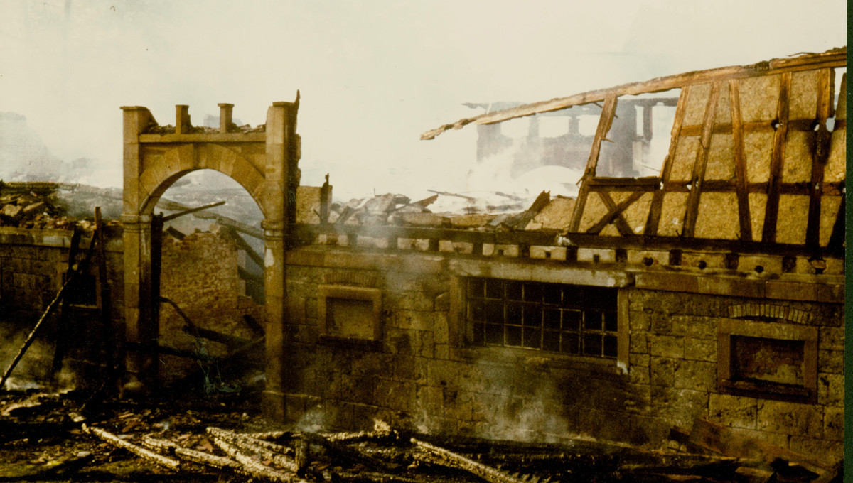 Verheerender Großbrand 1971 legt Großteile in Schutt und Asche