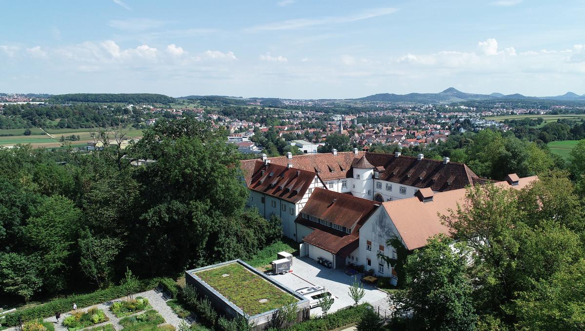 Luftaufnahme Schloss-Filseck